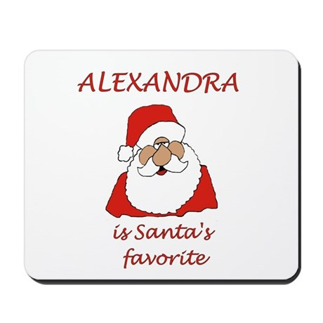 Alexandra Christmas Mousepad