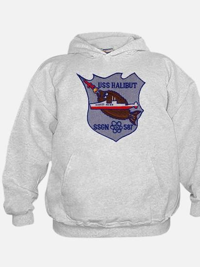 USS HALIBUT Hoodie