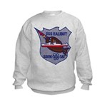 USS HALIBUT Kids Sweatshirt