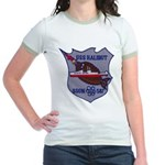 USS HALIBUT Jr. Ringer T-Shirt