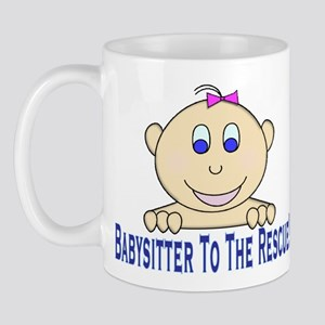 Babysitter To The Rescue Mug
