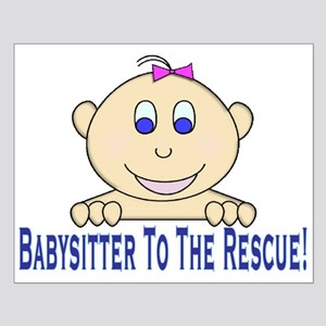 Babysitter To The Rescue Small Poster