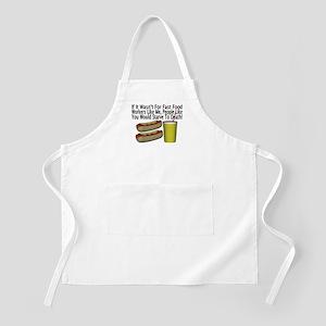 Fast Food Worker BBQ Apron