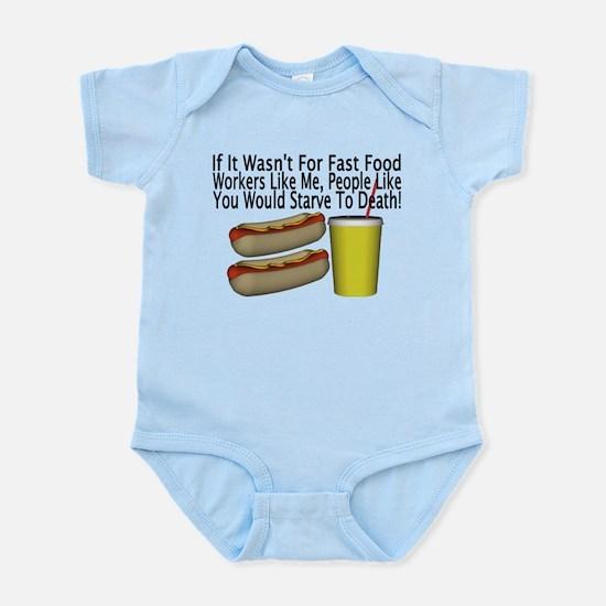 Fast Food Worker Infant Bodysuit