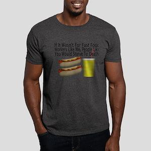 Fast Food Worker Dark T-Shirt