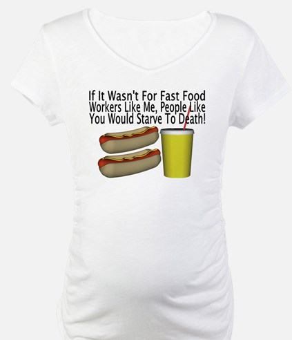 Fast Food Worker Shirt