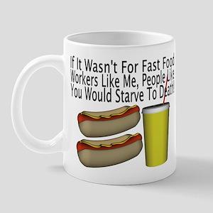 Fast Food Worker Mug