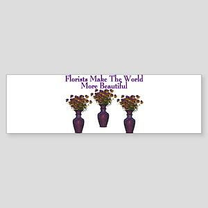 Florists Bumper Sticker