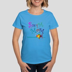 Swim Mom Women's Dark T-Shirt