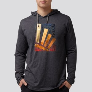 exclaim shock Long Sleeve T-Shirt