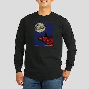 Coyote Moon Long Sleeve Dark T-Shirt