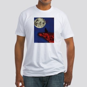 Coyote Moon Fitted T-Shirt