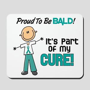Bald 1 Teal (SFT) Mousepad