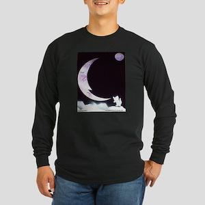 Goodnight Kitten Long Sleeve Dark T-Shirt