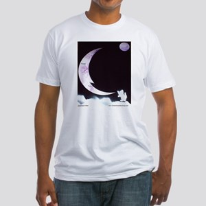 Goodnight Kitten Fitted T-Shirt
