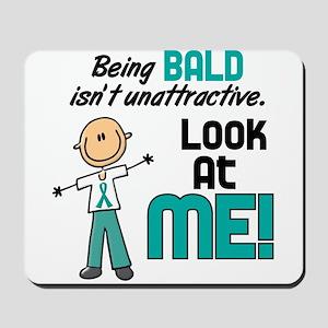 Bald 2 Teal (SFT) Mousepad