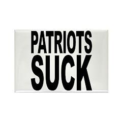 Patriots Suck Rectangle Magnet