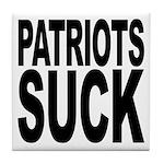 Patriots Suck Tile Coaster
