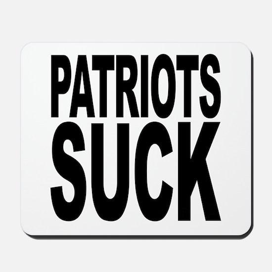 Patriots Suck Mousepad