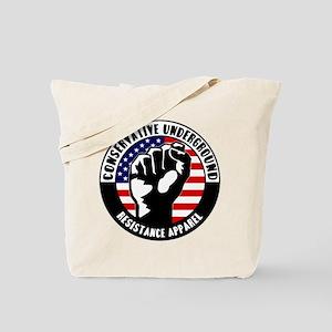 Conservative Underground Logo Tote Bag