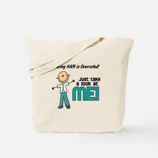 Bald 5 Teal (SFT) Tote Bag