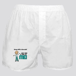 Bald 5 Teal (SFT) Boxer Shorts