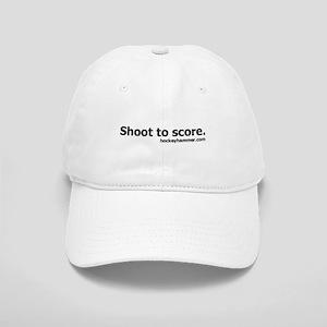 Shoot to score. Cap