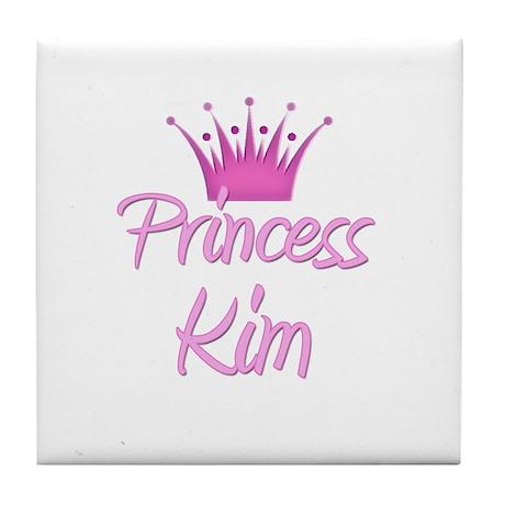 Princess Kim Tile Coaster