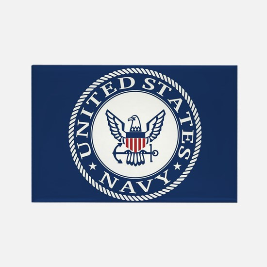 United States Navy Rectangle Magnet
