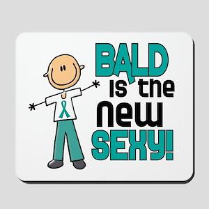 Bald 6 Teal (SFT) Mousepad