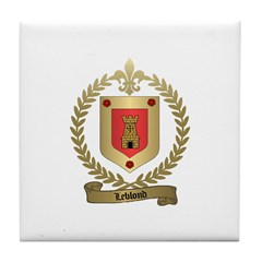 LEBLOND Family Tile Coaster