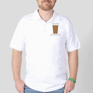 Conserve Water Drink Chocolate Milk Golf Shirt