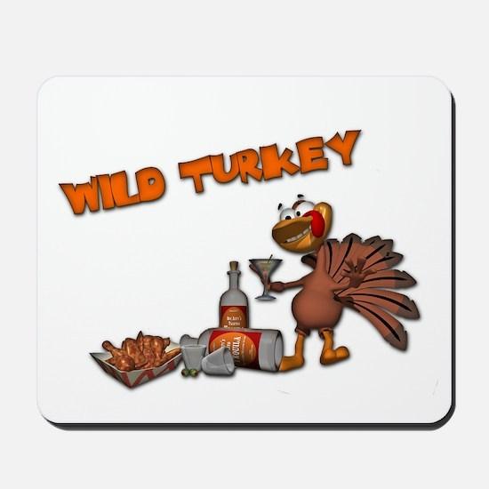 Wild Turkey Mousepad