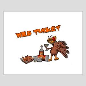 Wild Turkey Small Poster