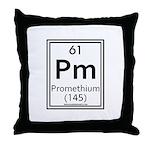 Promethium Throw Pillow