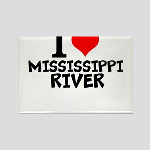 I Love Mississippi River Magnets