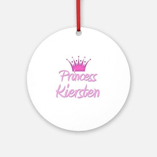 Princess Kiersten Ornament (Round)
