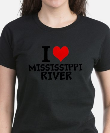 I Love Mississippi River T-Shirt