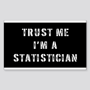 Statistician Gift Rectangle Sticker