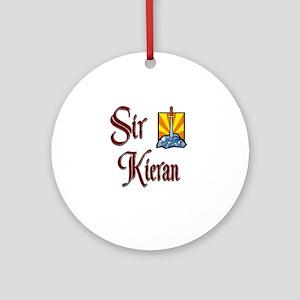 Sir Kieran Ornament (Round)