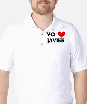 Amo (i love) Javier Golf Shirt