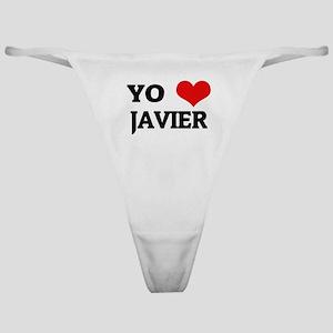 Amo (i love) Javier Classic Thong