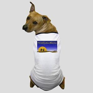 Christmas Mary and Joseph Dog T-Shirt