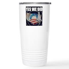 Yes We Did Global Stainless Steel Travel Mug