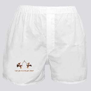 Thanksgiving Turkey Dinner Boxer Shorts