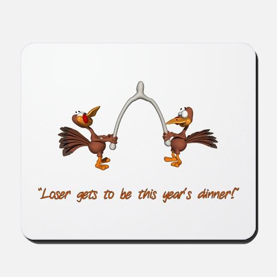 Thanksgiving Turkey Dinner Mousepad