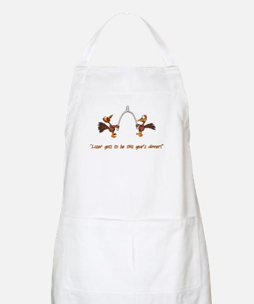 Thanksgiving Turkey Dinner BBQ Apron