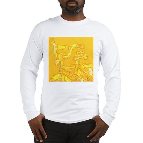 A Yellow Bike Long Sleeve T-Shirt