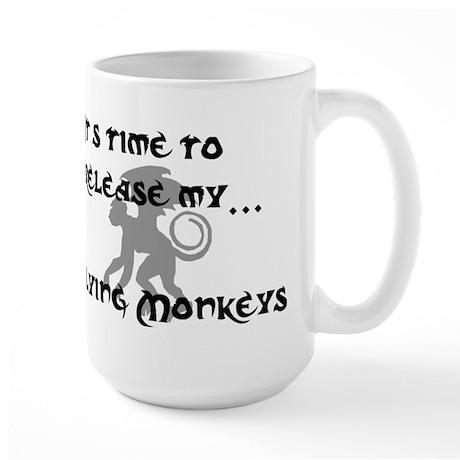 Flying Monkey Large Mug