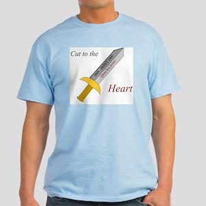 """""""Cut to the Heart"""" Light T-Shirt"""
